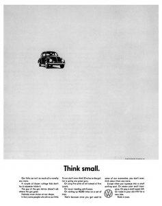 Anuncio de VW